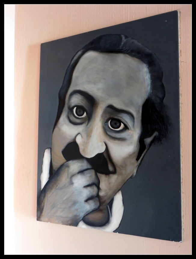 My painting of Meher Baba