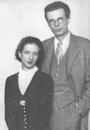 Laura Archera and Aldous Huxley