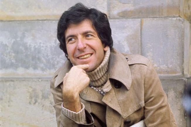 Leonard Cohen in Amsterdam, 1972